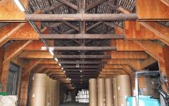 屋根の補強をしながら、大切に使っています。